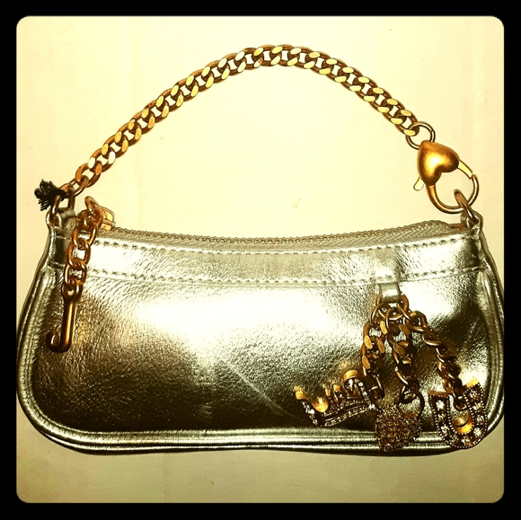 Rare Vintage JUICY COUTURE Mini Leather pace co…